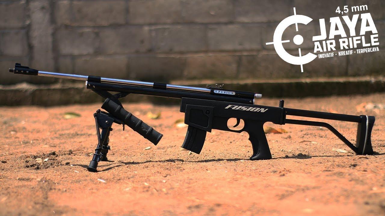 La meilleure et la plus récente carabine SHARP – FUSION 22/60 AK Fold Black VS Tin Can