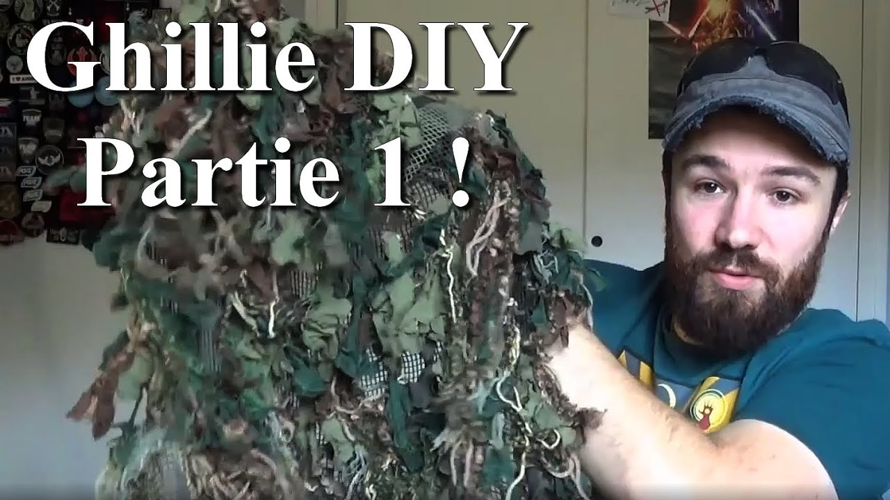 Ghillie DIY. Inspiration & Fabrication. Airsoft. (n°298)