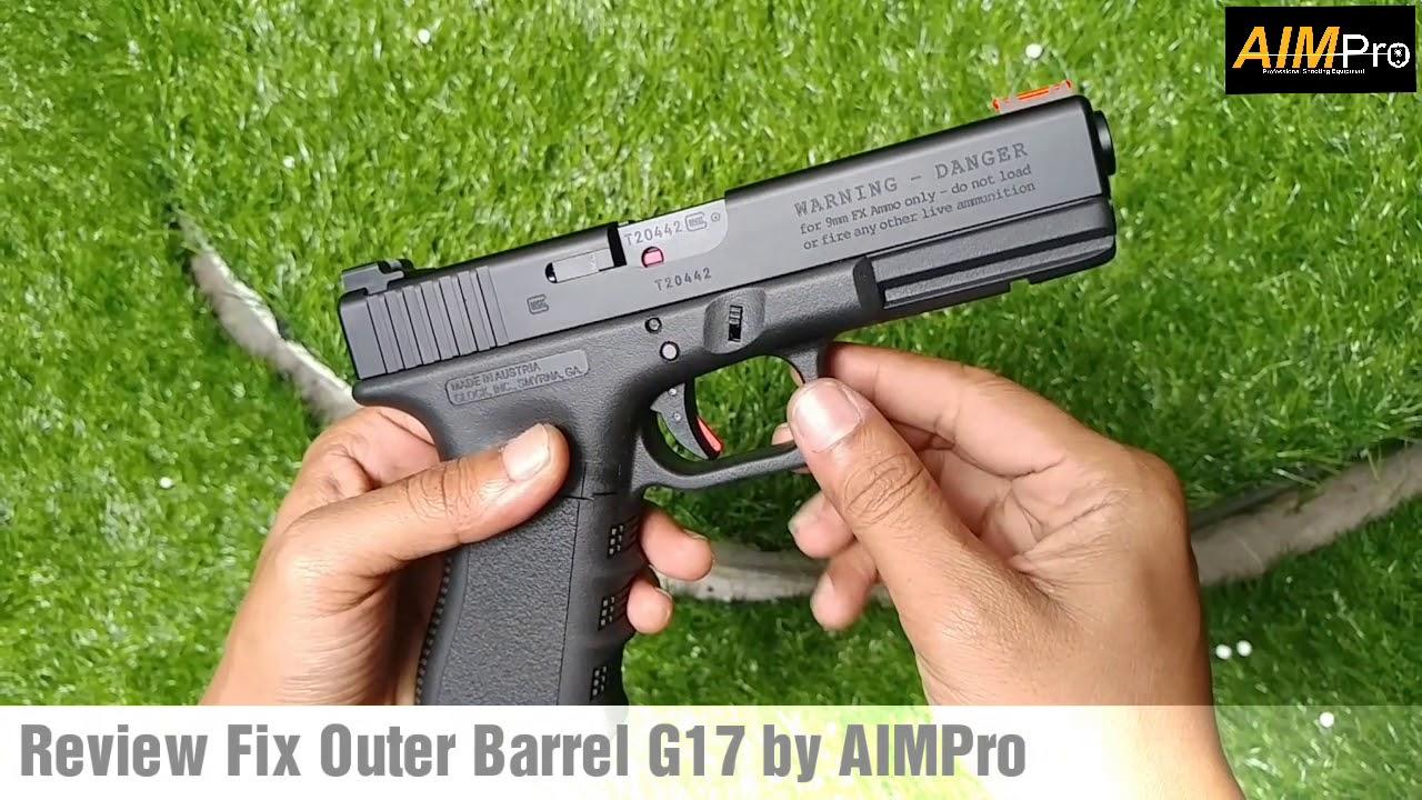 Baril extérieur fixe sur Airsoft Glock 17T personnalisé ?? Pourquoi pas, Review & Build by AIMPro