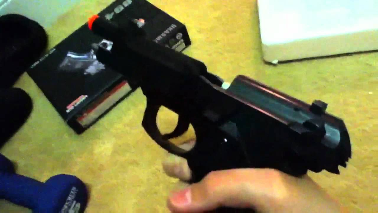 UKArms 8946 Airsoft Pistolet Unboxing et Review + Shooting T