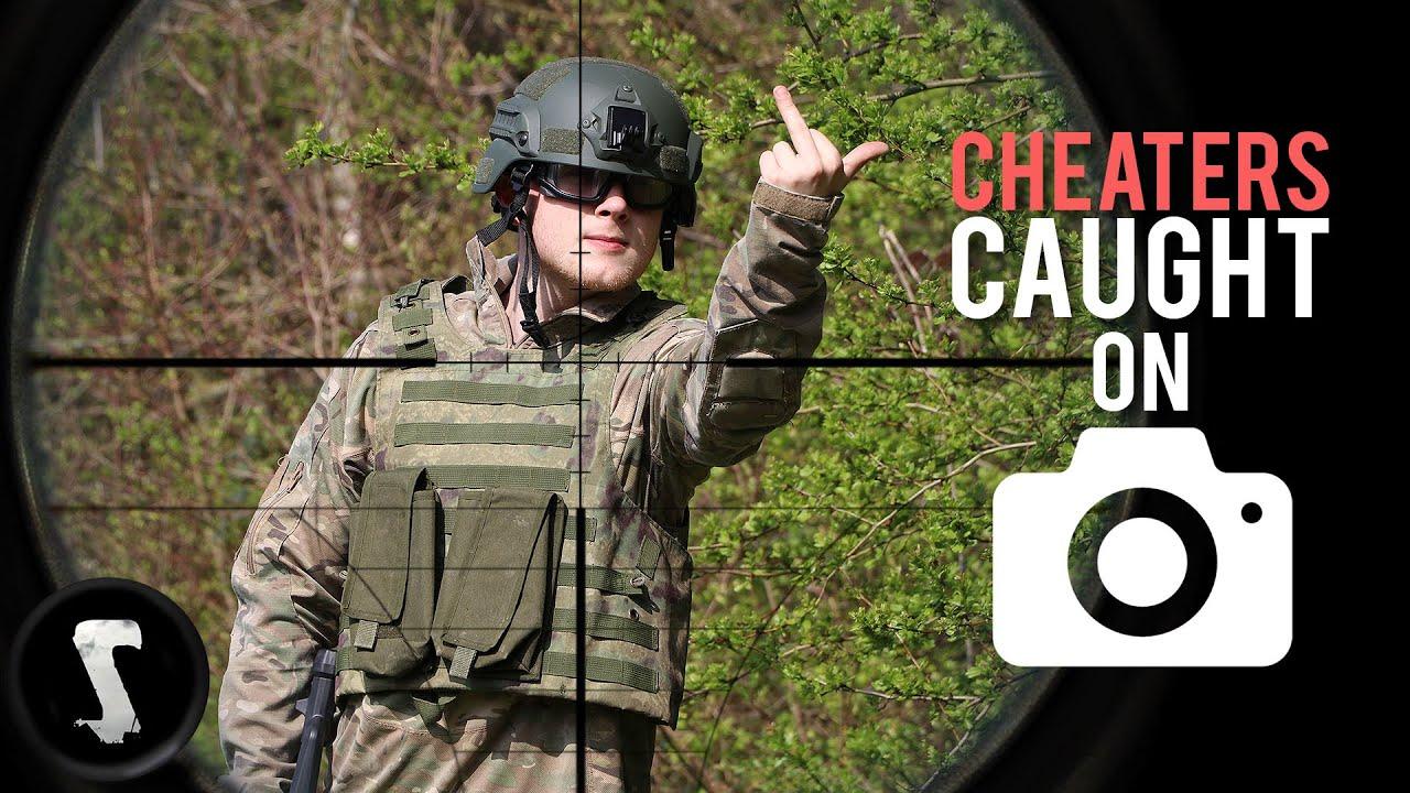 Pisser les tricheurs Airsoft avec 500 FPS Sniper Headshots