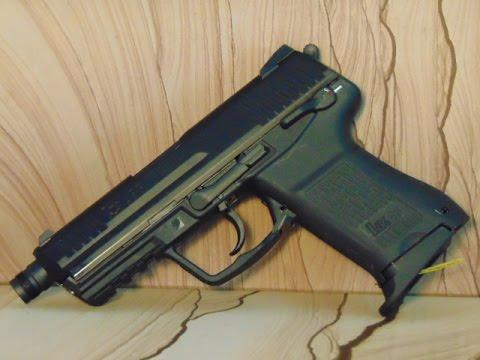 Examen et test de tir Heckler & Koch HK 45 CT 6 mm Airsoft GBB