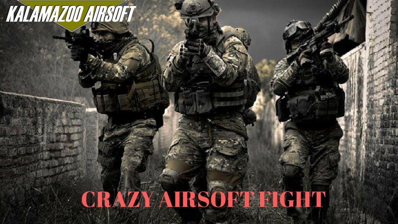 Crazy Airsoft Match (Kalamazoo Airsoft)