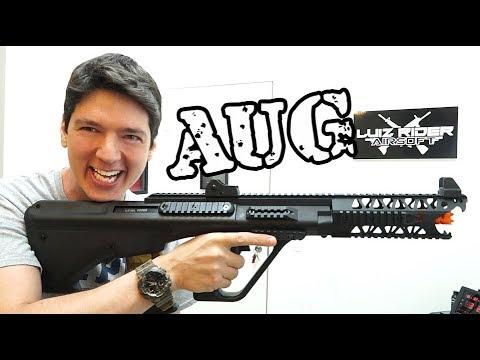 Revue AUG – EVO Arms – Luiz Rider – Airsoft France