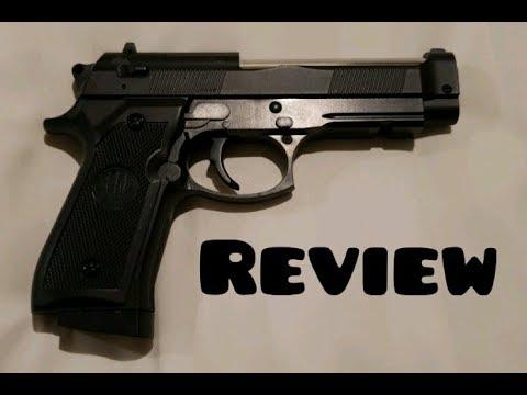 [Review] Airsoft Beretta 92 Star C.19 (mon premier pistolet airsoft jamais!)