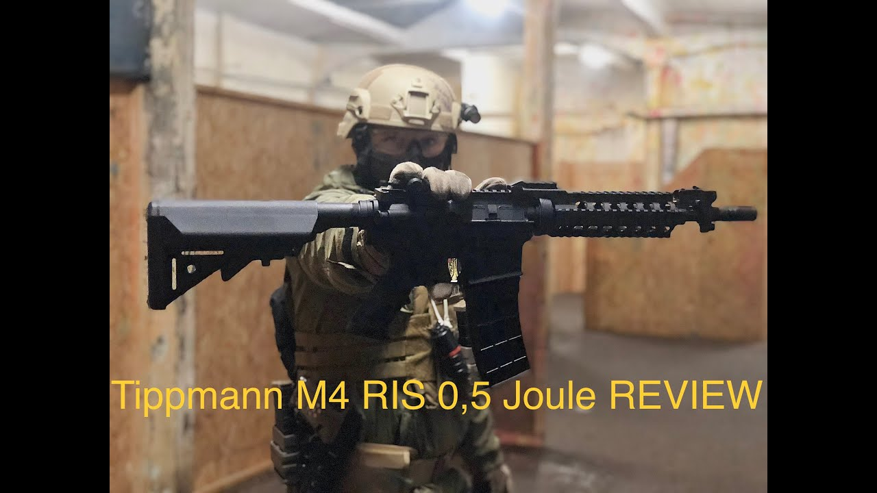 AREA13 | Test, essai, test du Tippmann M4 RIS 0,5 Joule | Airsoft et paintball