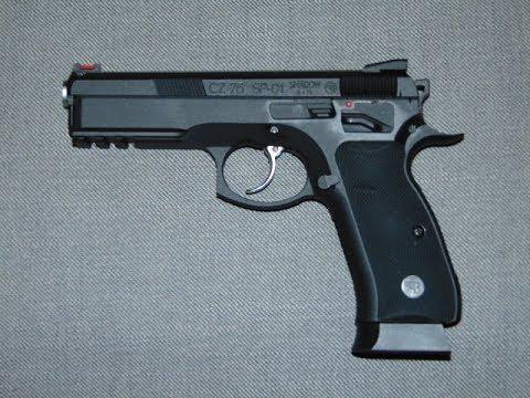 CZ 75 SP-01 Shadow Kal.6mm BB GBB – test et test de tir