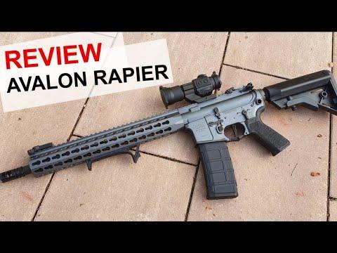 Revue VFC Avalon Rapier – test de tir jusqu'à 60 mètres – 4k / UHD