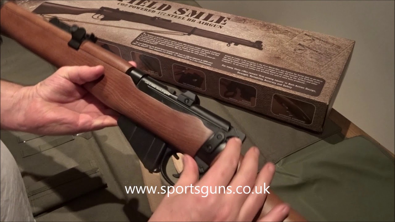Chronique de Lee Enfield SMLE Airgun Replica