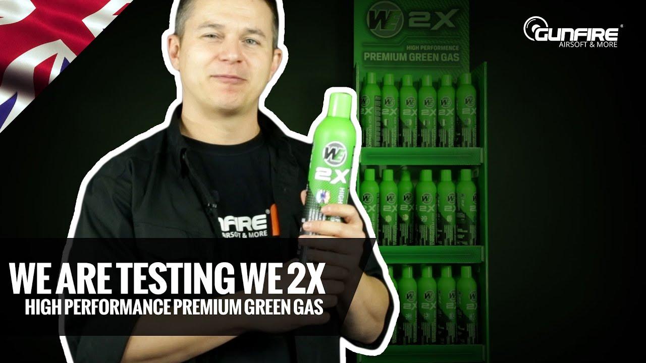 Nous testons le gaz vert premium 2X haute performance WE