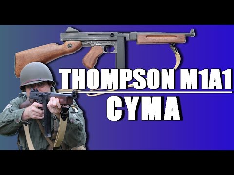 Thompson M1A1 CYMA – REVIEW AIRSOFT