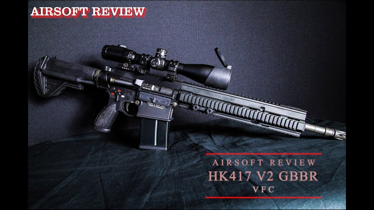 HK417 V2 GBBR VFC [AIRSOFT REVIEW]