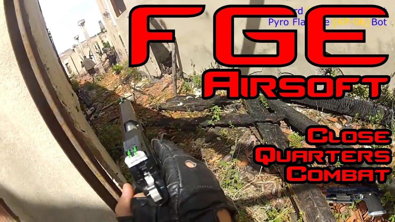 Close Quarters Combat – AIRSOFT