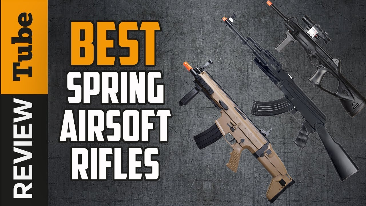 ✅Rifle: Best Airsoft Spring Rifles 2019 (Guide d'achat)