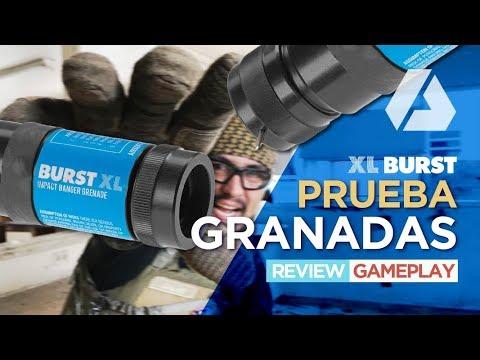 Test de grenade! XL Burst Gameplay – Test et test des innovations Airsoft