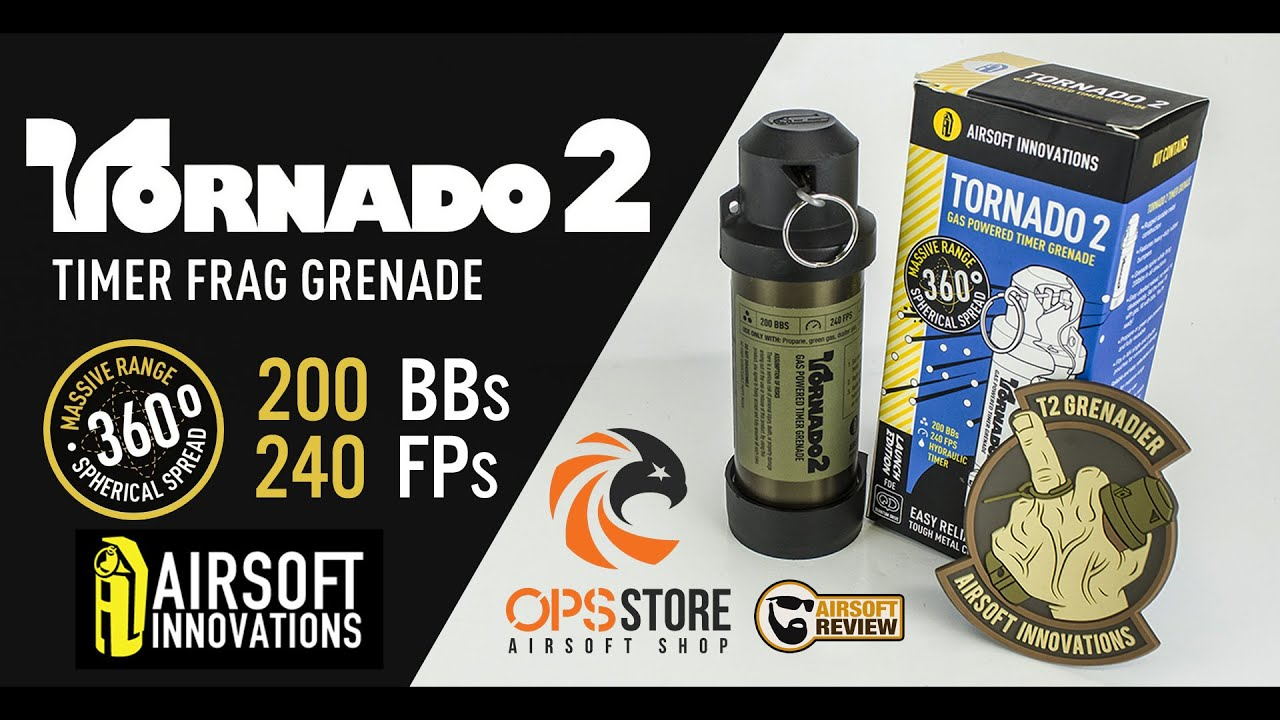 [FR] TORNADO 2 TIMER / AIRSOFT INNOVATIONS /OPS-STORE #AIRSOFT REVIEW