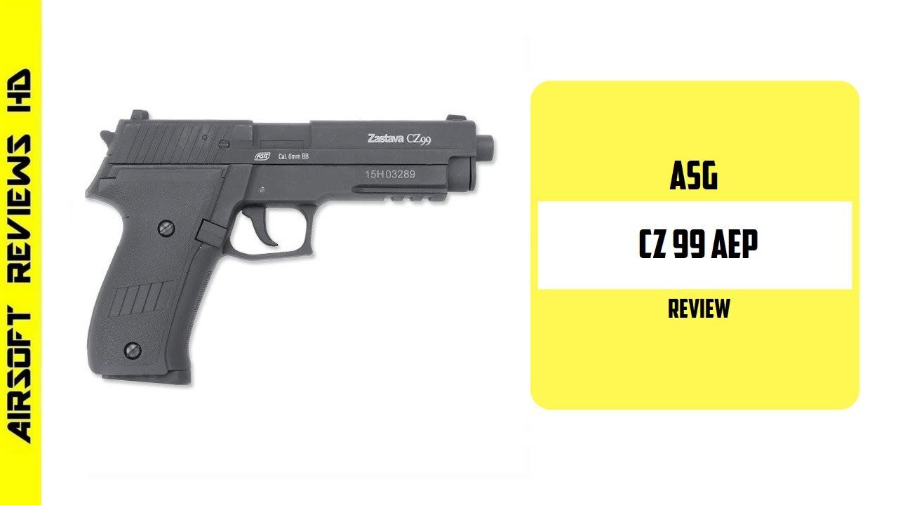 (Revue Airsoft) Pistolet électrique Airsoft ASG CZ 99