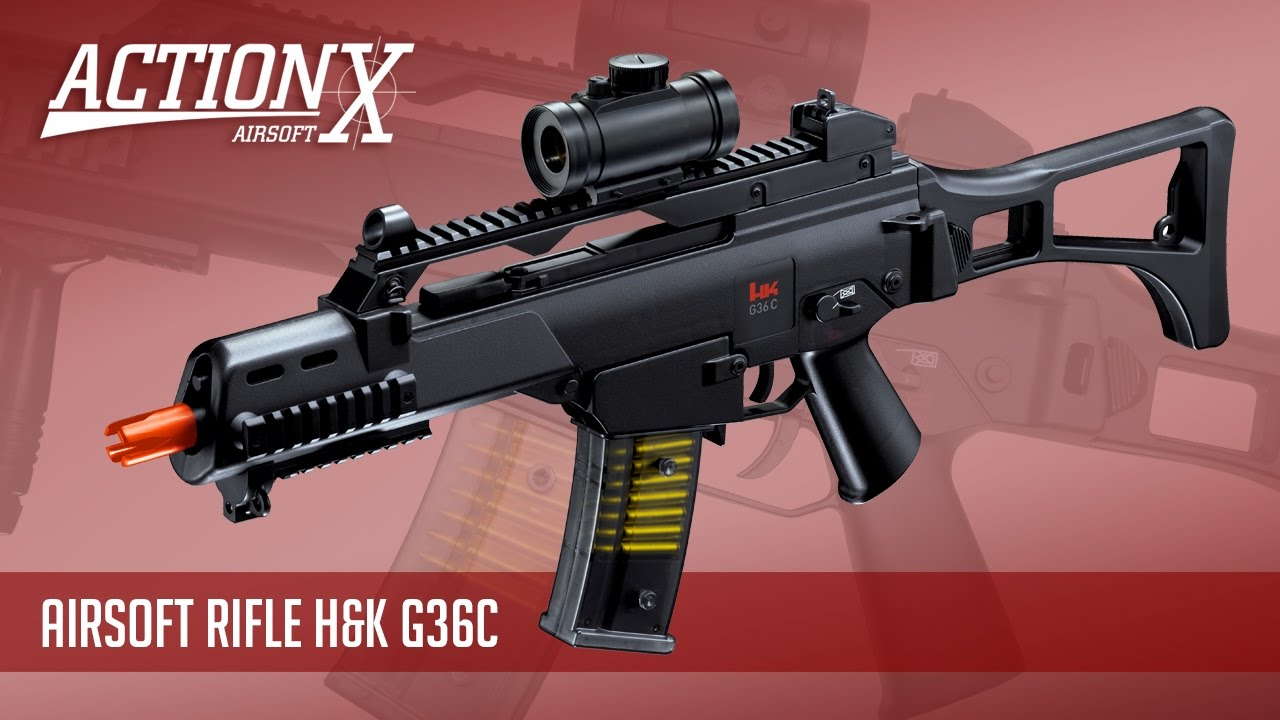 Avis – Carabine Airsoft H&K G36C