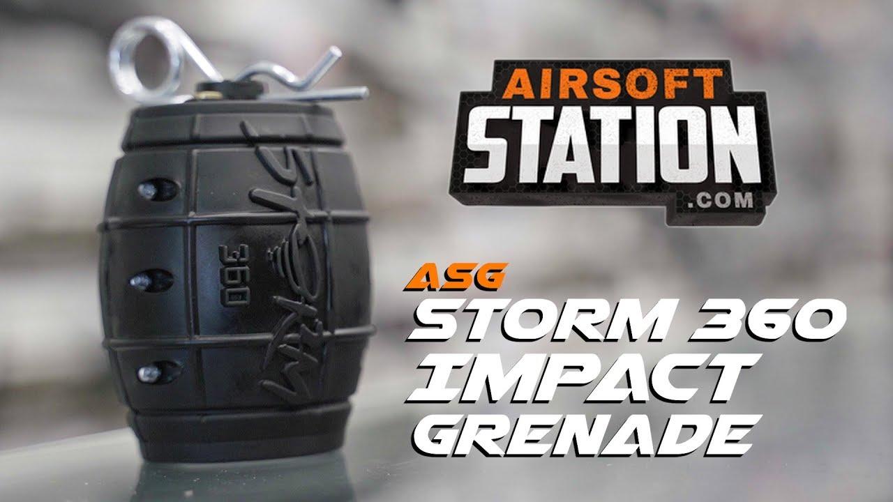 Grenade à impact ASG Storm 360 – Bang for your Buck! – Examen de la station Airsoft (ET DEMO)