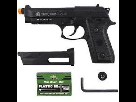 Revue du pistolet à gaz Taurus PT99 CO2
