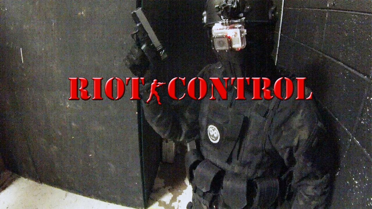 Airsoft Riot Control lors du match personnalisé APC 1/22/17