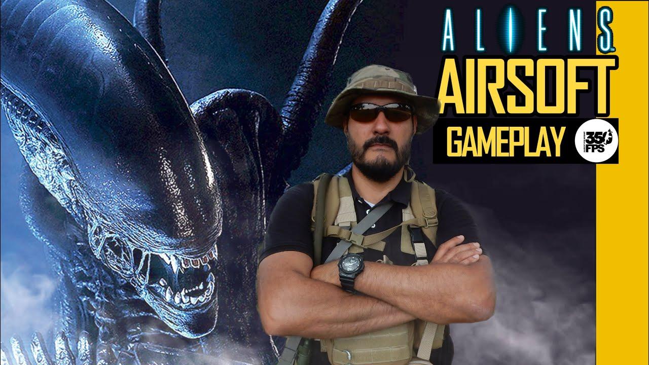Airsoft Mexico – Match à mort par équipe – Extraterrestres