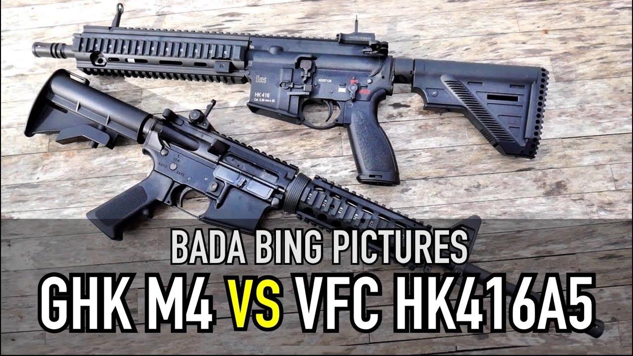 GHK M4 vs VFC HK416A5 GBB: Quel est le meilleur?