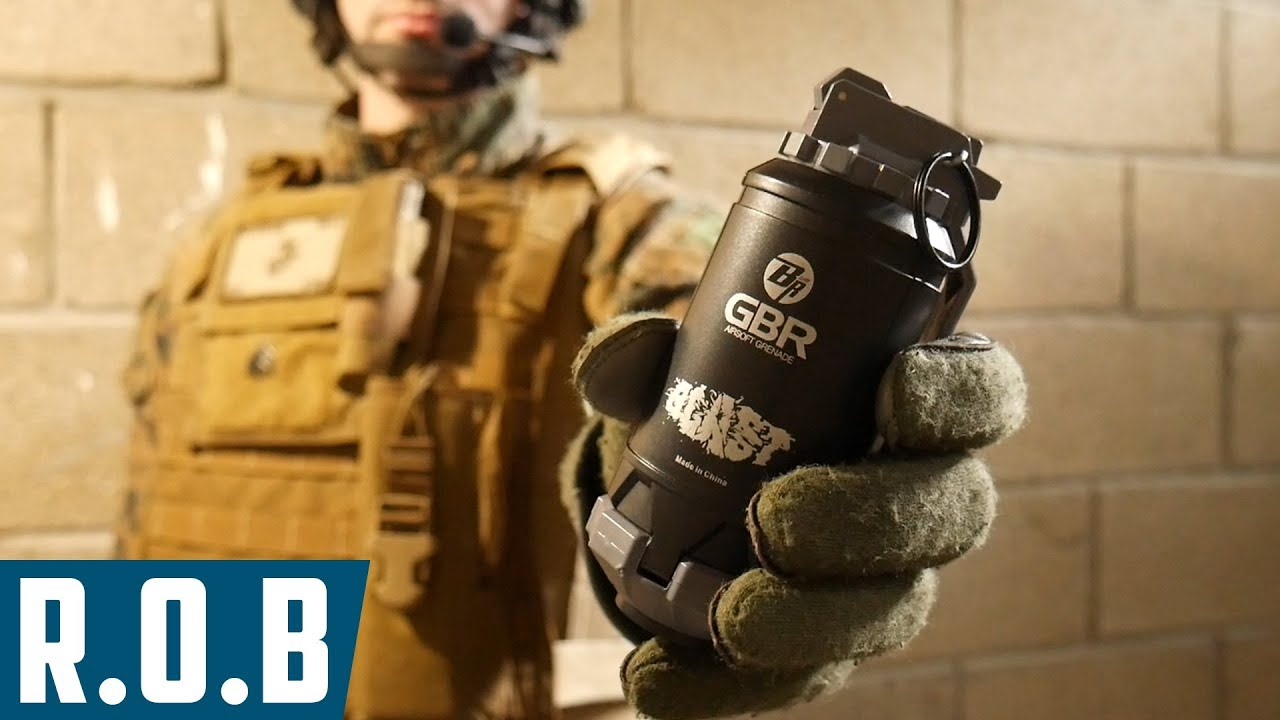 Airsoft   Bigrrr GBR Spring Airsoft Grenade   Review on Battlefield