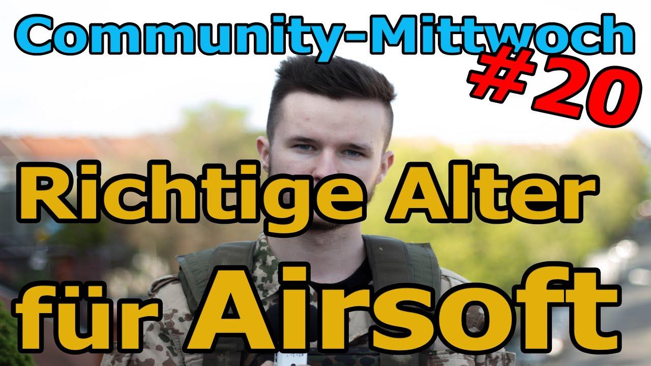 Premiers pas avec Airsoft – Le bon âge? Quel est le bon âge – mercredi communautaire