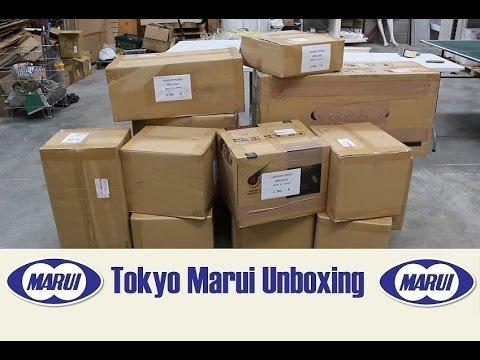 Massive Tokyo Marui Airsoft Unboxing