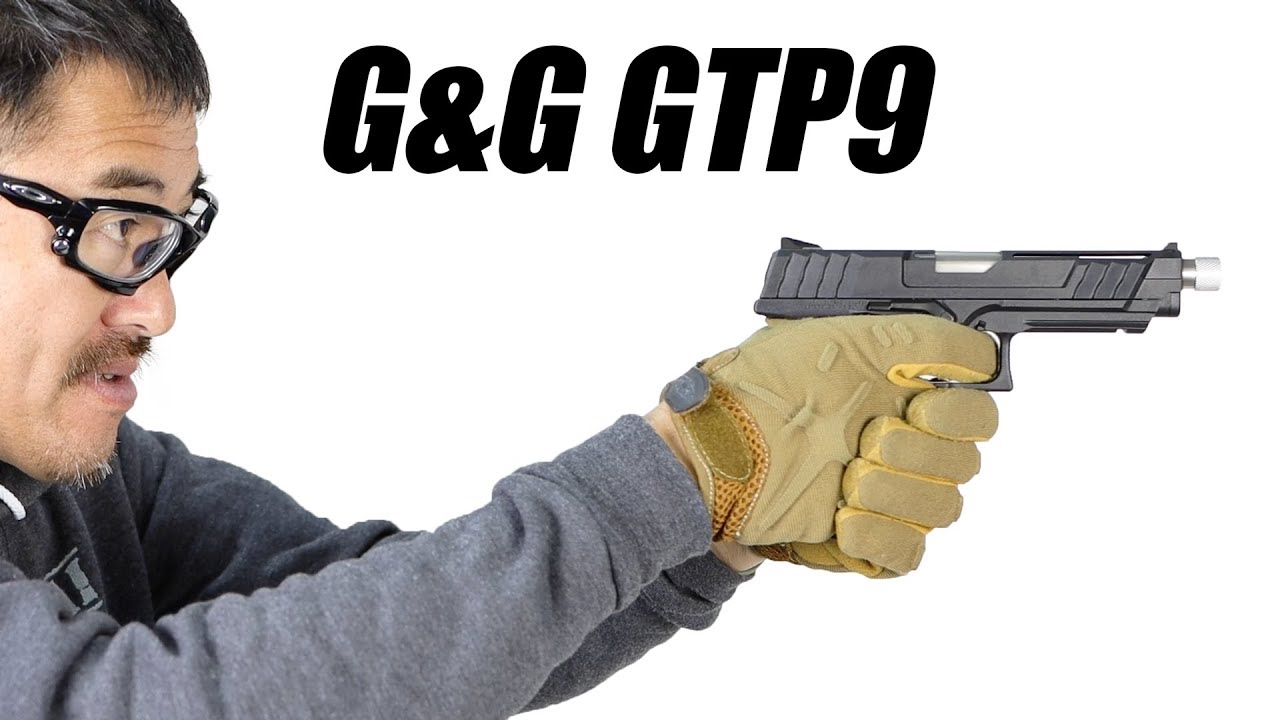 Revue du pistolet à gaz G & G GTP9 Revue Airsoft
