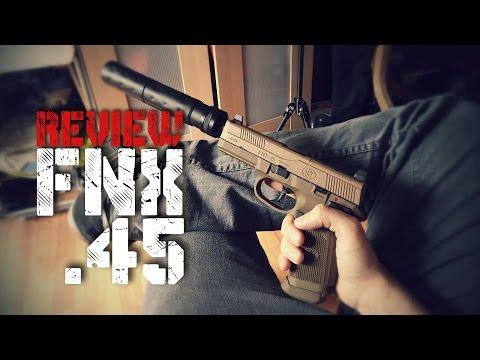 [55]Airsoft – Avis – FNX 45 Cybergun tactique