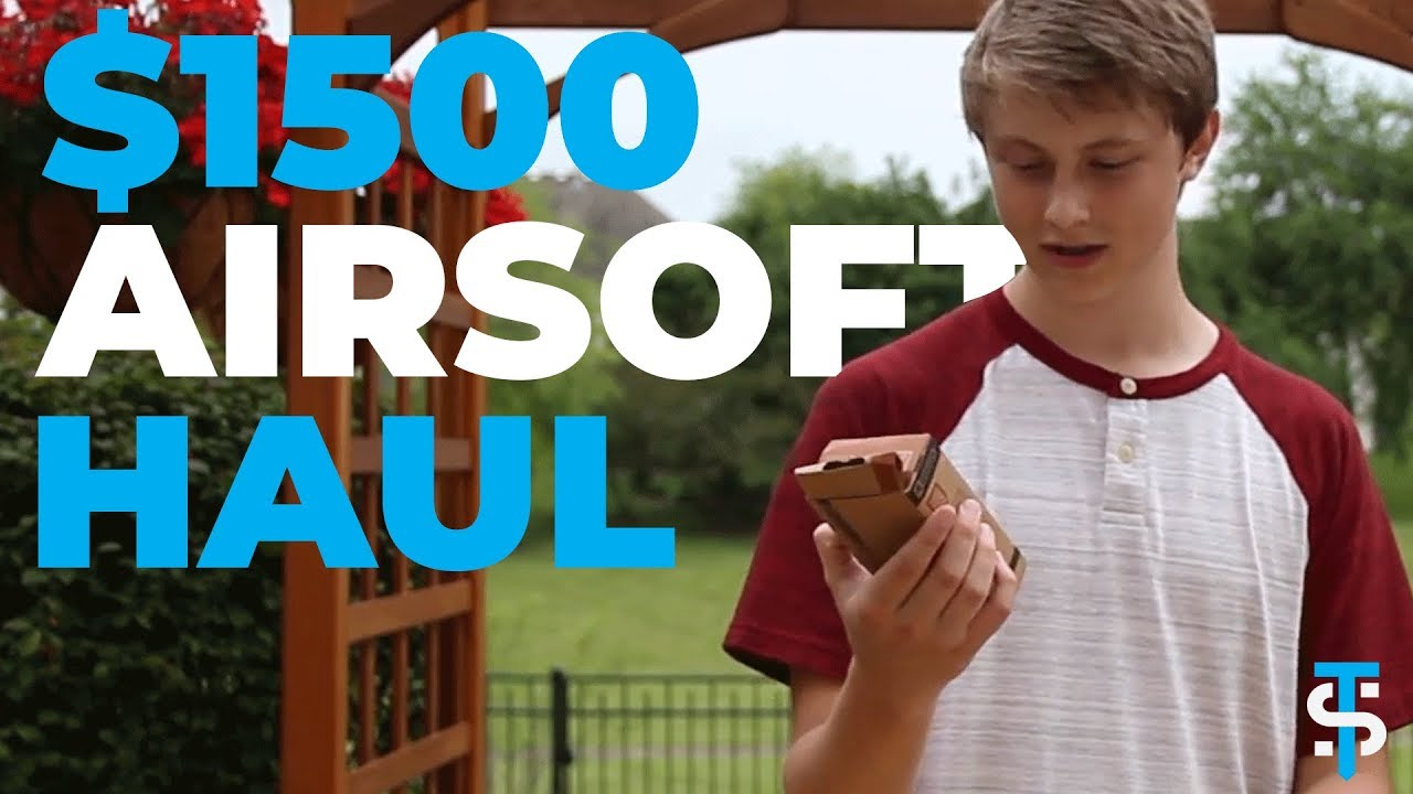 1500 $ Airsoft Haul Unboxing!
