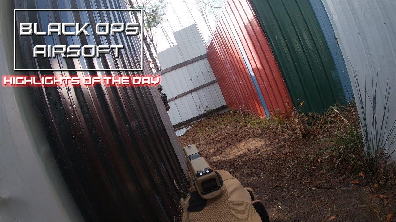 Black Ops Airsoft: Faits saillants de la journée