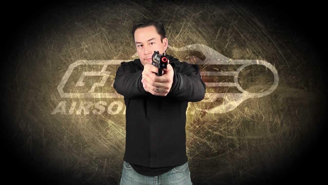 Airsoft GI – OEM pistolet pistolet à gaz tactique compact HK USP par KWA