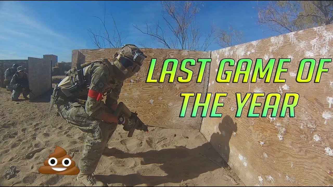 Airsoft Dernier match de l'année Gameplay d'Ares Tavor 21