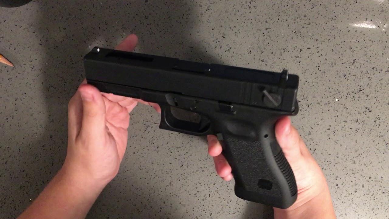 Présentation d'Elite Force Glock 18C (Remake et son pistolet airsoft, pas un vrai pistolet)
