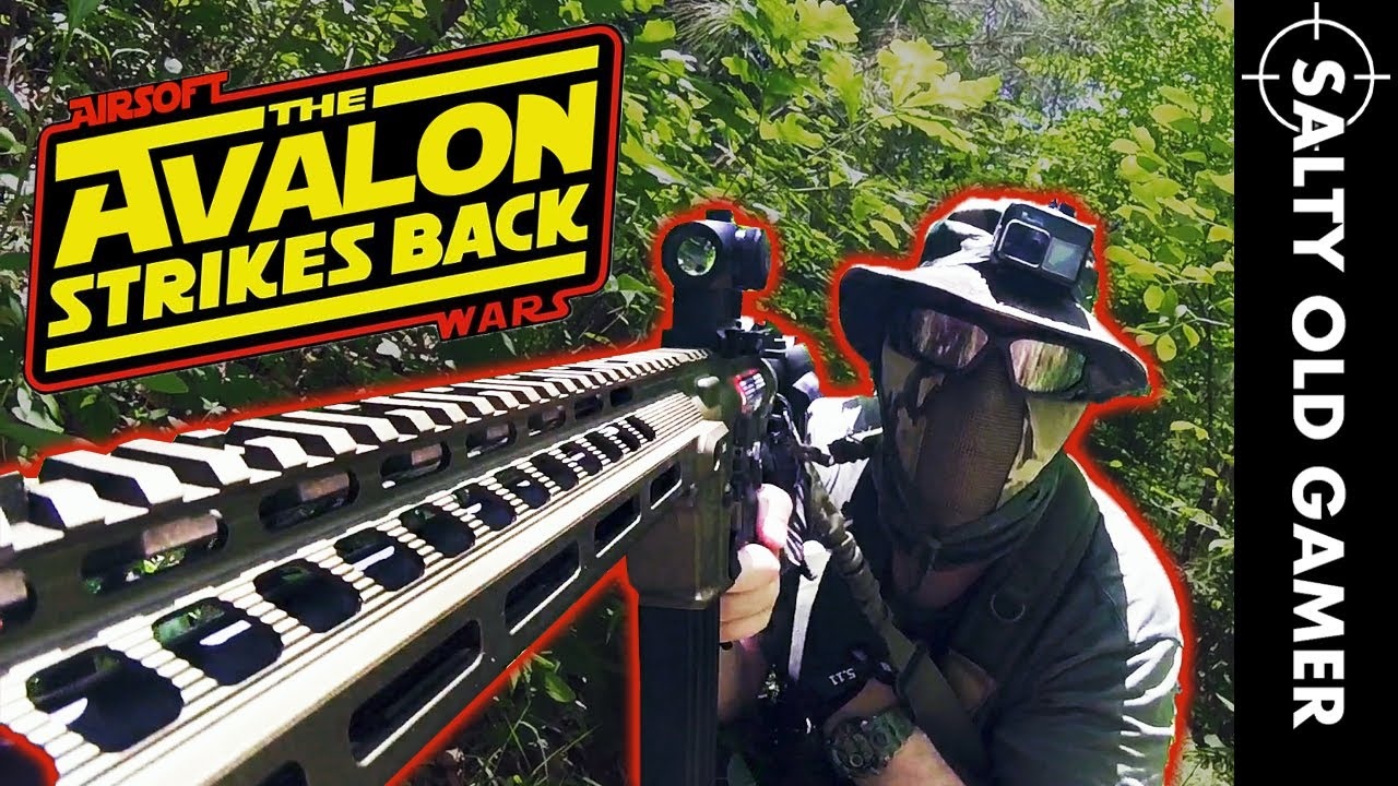 Avalon est de retour et Pwning Noobs Again! | SaltyOldGamer Airsoft Gameplay