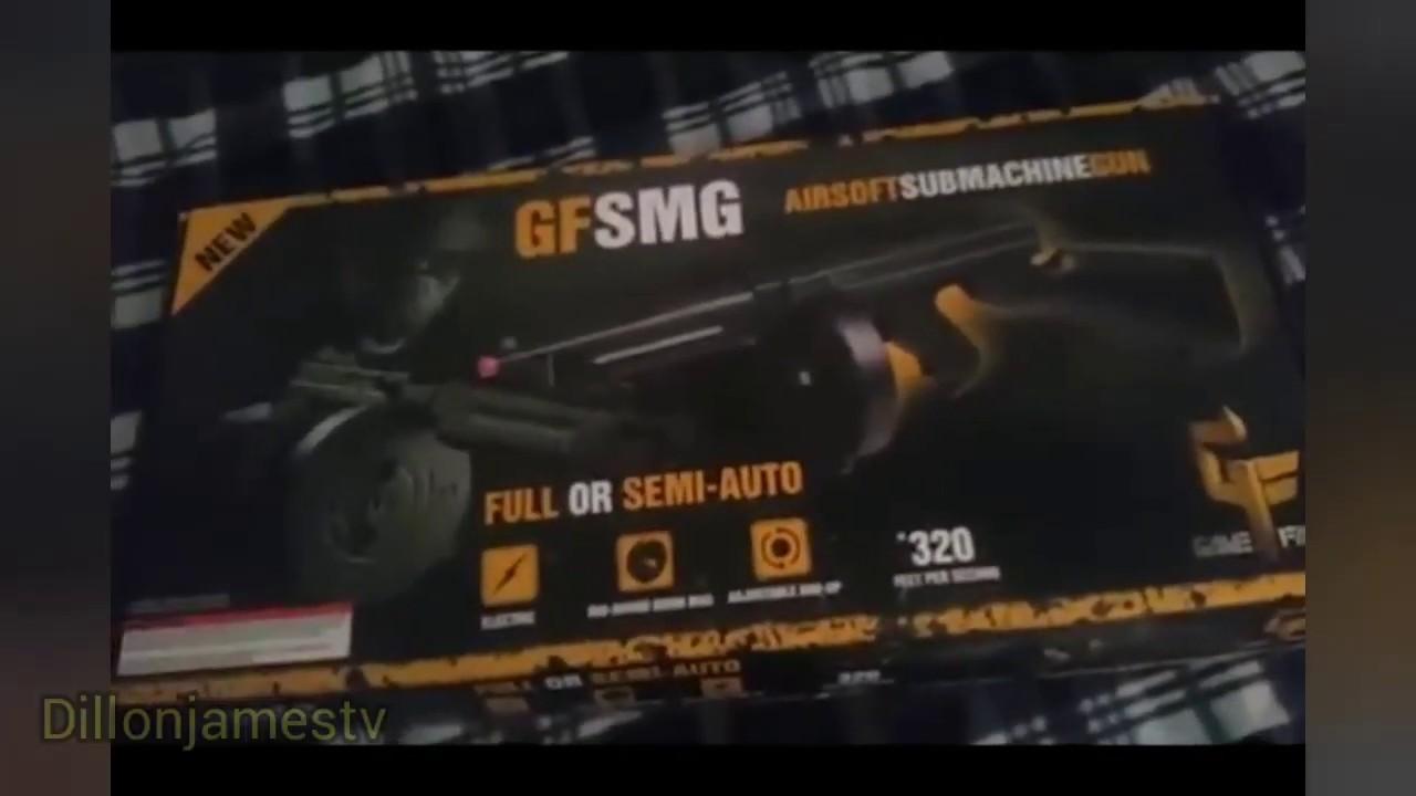 Revue complète du pistolet airsoft Gameface GFSMG (magazine de batterie)