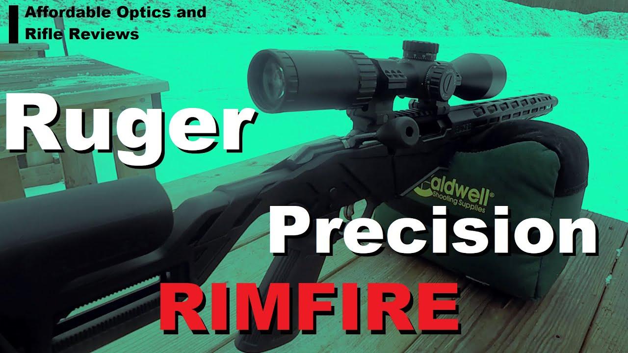 Critique du Ruger Precision Rimfire (.22LR): le bon avec le mauvais et le … douteux