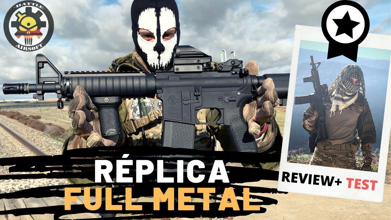 Réplique qualité FULL METAL BARATA – prix / AIRSOFT (Avis Specna Arms SA-E04 EDGE)