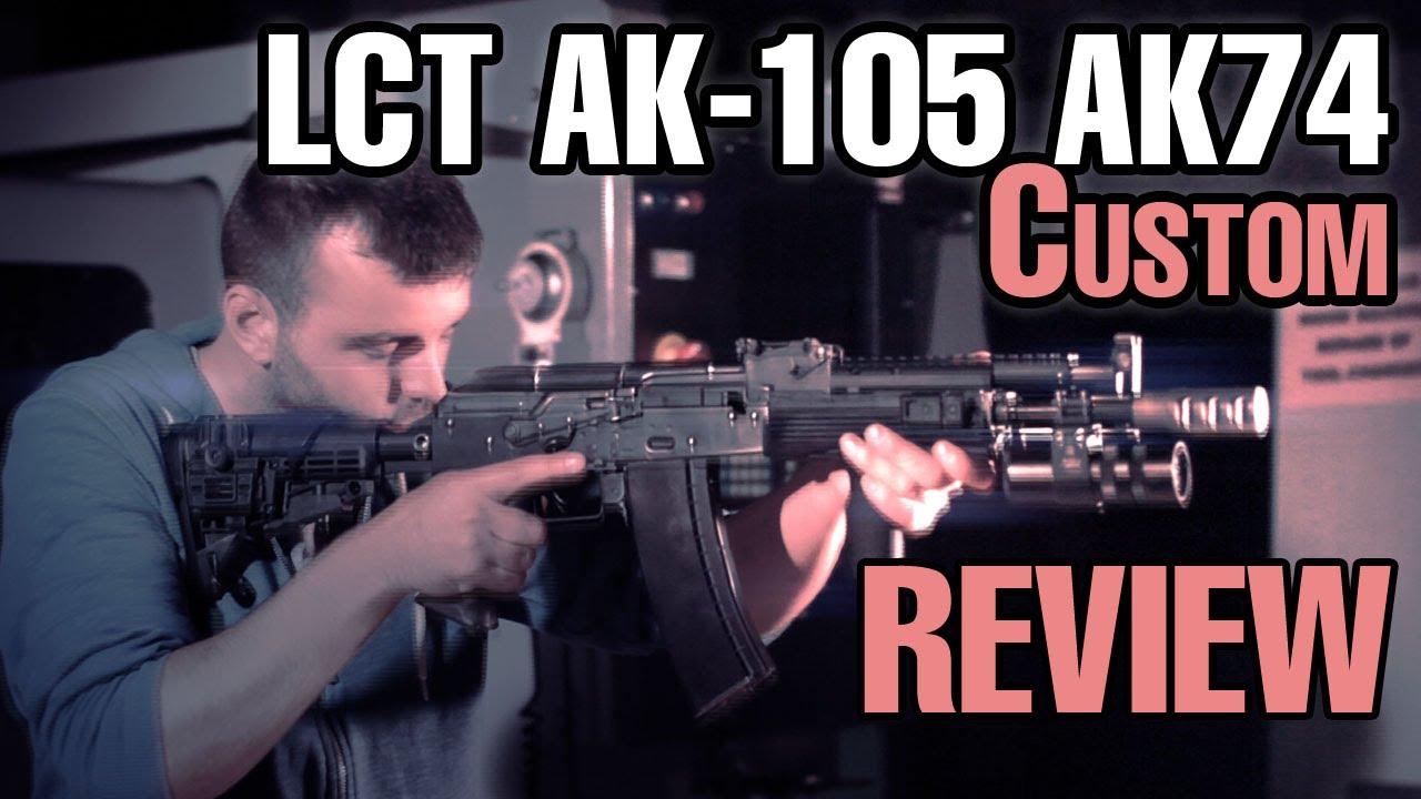 LCT AK-105 AK74 Revue de pistolet airsoft personnalisé