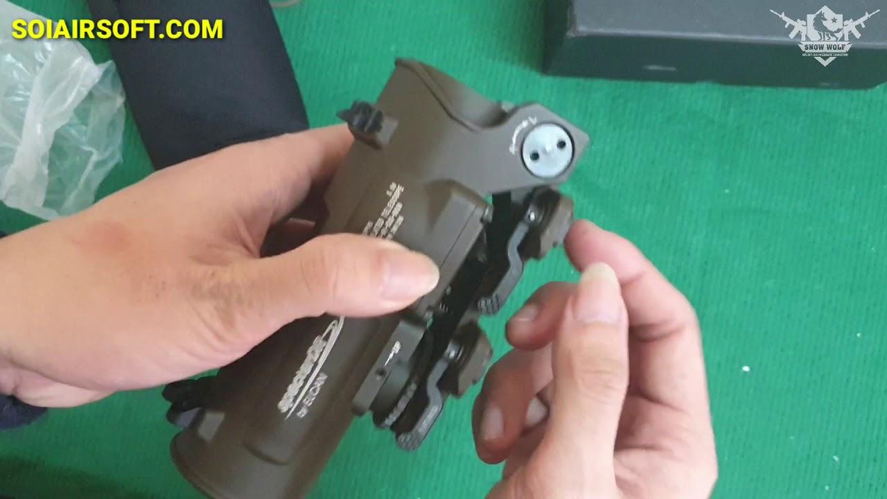 SOIAIRSOFT.COM – Lunettes Scope ELCAN SpecterDR 1-4x Premium Airsoft