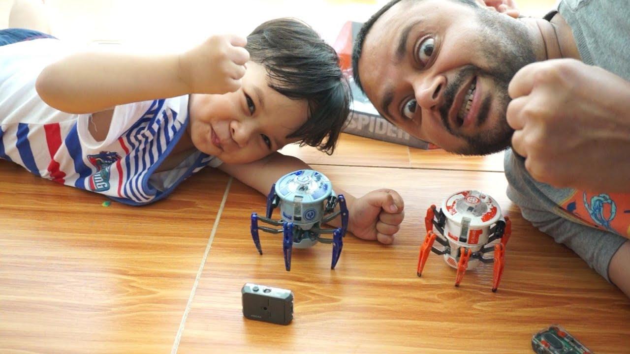 Battle Spider Hexbug Battle Spiders Arish contre AliShanMao