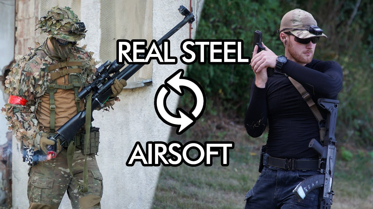 REAL STEEL vs AIRSOFT
