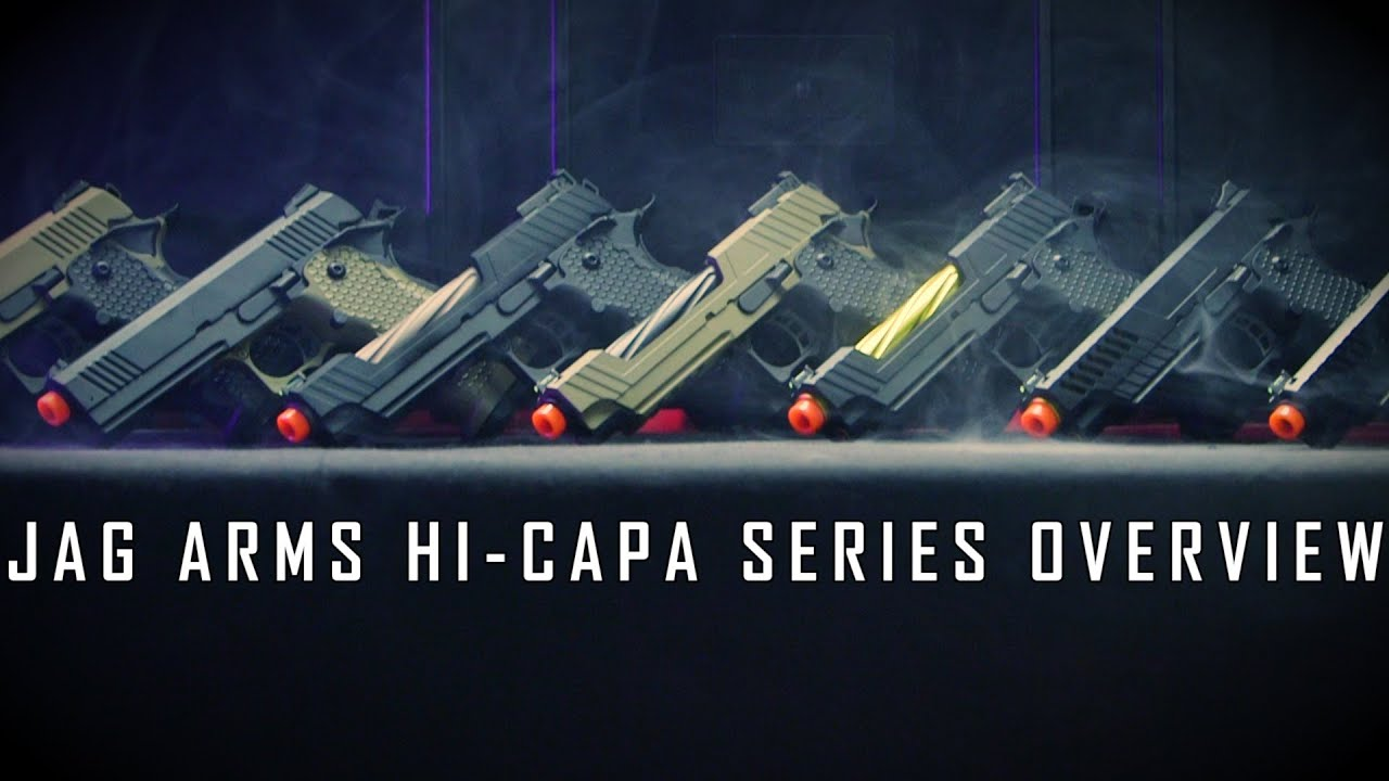 NOUVEAUX HI-CAPAS SUR LE BLOC! – Pistolets à gaz GMX / GM4 JAG Arms | Airsoft GI