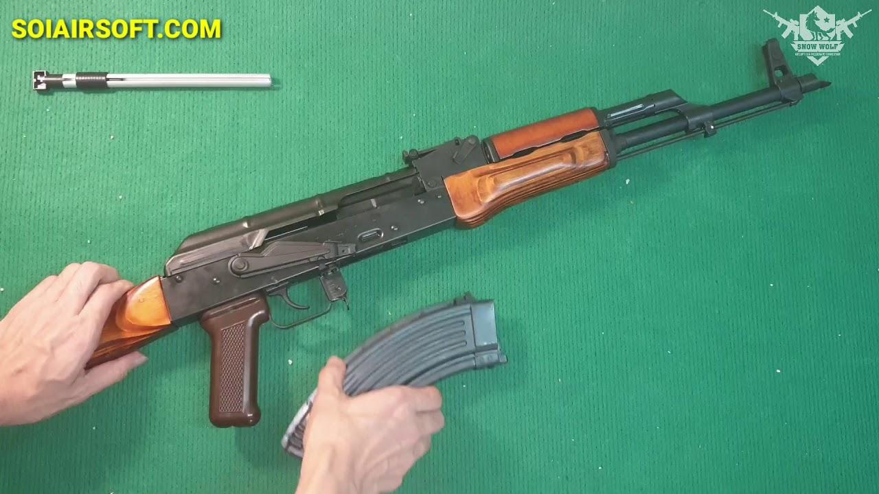 SOIAIRSOFT.COM – Pistolets Airsoft Premium AKM GBBR GHK