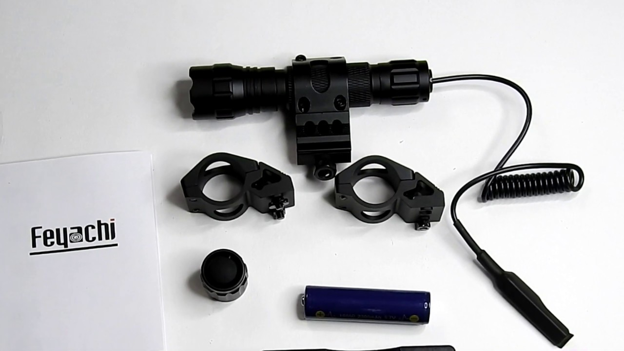 Support de lampe de poche Feyachi M-Lock + examen de la lampe de poche tactique FL11