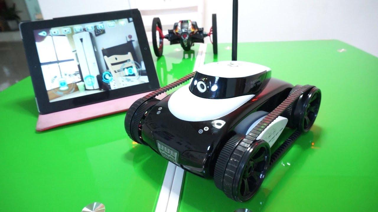 Spy Tank iSpy iPad Controller Rover avec caméra