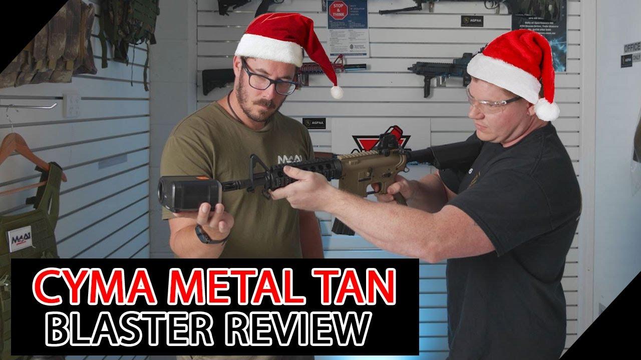 Cyma Metal Tan (Blaster Review)